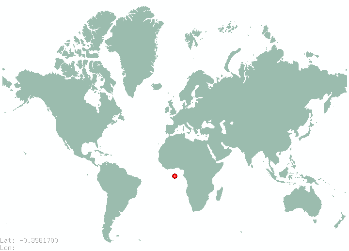 Kismayo in world map